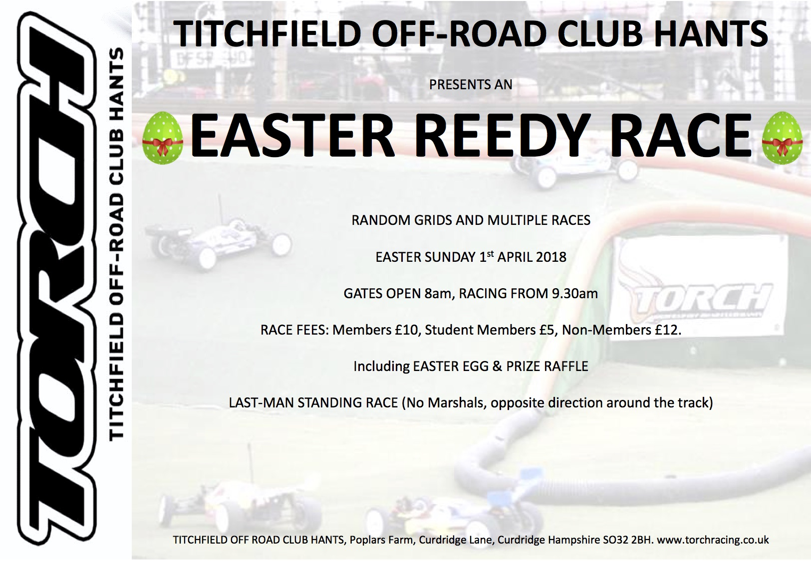 Easter Reedy Race